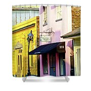 The French Quarter Wedding Chapel Shower Curtain