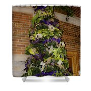 The French Thistle Tree Fashions For Evergreens Hotel Roanoke 2009 Shower Curtain
