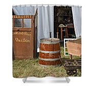 The French Visitor Shower Curtain