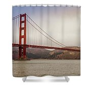 The Frisco Bridge Shower Curtain