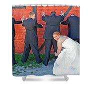 The Frisky Bride Shower Curtain