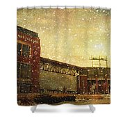 The Frozen Tundra Shower Curtain by Joel Witmeyer