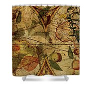 The Fruit Look Shower Curtain