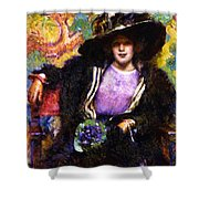The Furs 1911 Shower Curtain