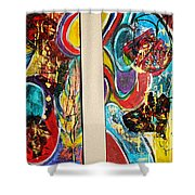 The Future Is Big And Bright Shower Curtain