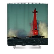 The Gale Of October II Shower Curtain