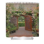 The Garden Door Shower Curtain