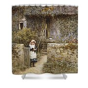 The Garden Gate Shower Curtain
