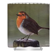 The Garden Guest Two Shower Curtain