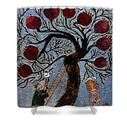 The Garden Of Eden Shower Curtain
