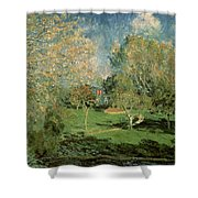 The Garden Of Hoschede Family Shower Curtain