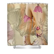 The Garden Of Light Shower Curtain