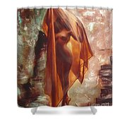 The Garden Of Stones Shower Curtain
