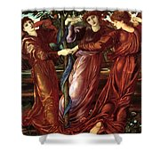 The Garden Of The Heserides 1877 Shower Curtain