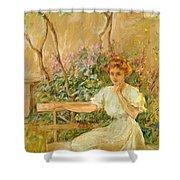 The Garden Seat 1911 Shower Curtain