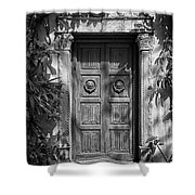 The Garden Tomb Shower Curtain