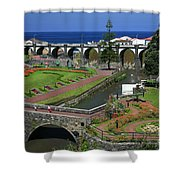 The Gardens Of Ribeira Grande Shower Curtain