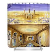The Gate Keeper Shower Curtain