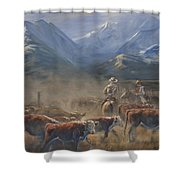 The Gate Tally Shower Curtain