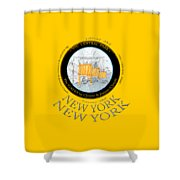 The Gates By Christos In Central Park Shower Curtain