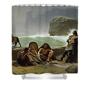 The Gaulish Coastguards Shower Curtain