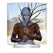 The Gaze Shower Curtain