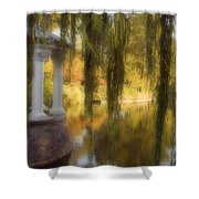 The Gazebo Shower Curtain