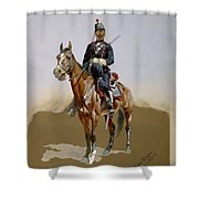 The Gendarme Shower Curtain