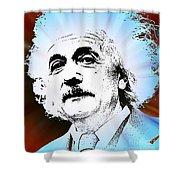 The Genius Mind Shower Curtain
