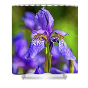 The Gentleness Of Spring 4 - Paint Shower Curtain