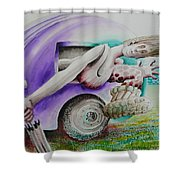 The Get Away Shower Curtain