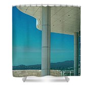 The Getty Panel 2 Of Triptyck Shower Curtain