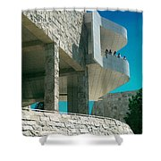 The Getty Panel Three From Triptych Shower Curtain
