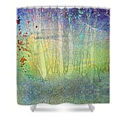The Ghost Forest Shower Curtain