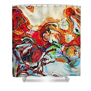The Gift Box Shower Curtain