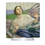 The Gift Of Sight Shower Curtain