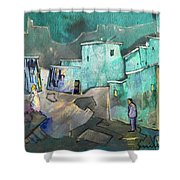 The Girl Of His Dreams Shower Curtain