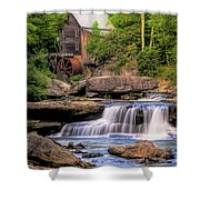 The Glade Creek Mill Shower Curtain