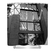 The Glass Window Shower Curtain