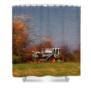The Gleaner In Repose Shower Curtain