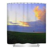 The Glen Golf Club Hole #15 Shower Curtain