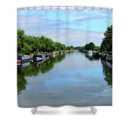 The Gloucester And Sharpness Canal Shower Curtain