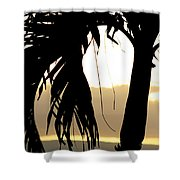 The Glow Of Maui Shower Curtain