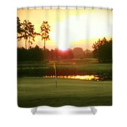 The Goal's In Sight Shower Curtain