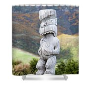 The God Of The Wind Shower Curtain