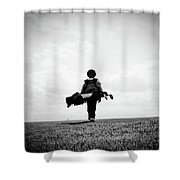 The Golfer Shower Curtain