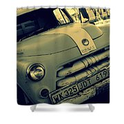 The Good Old Days On Route66 Shower Curtain