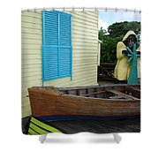 The Gordons Fisherman House Shower Curtain
