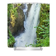 The Gorges Of The Langouette - 4 Shower Curtain