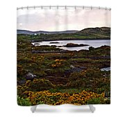 The Gorse It Was Abloomin Shower Curtain